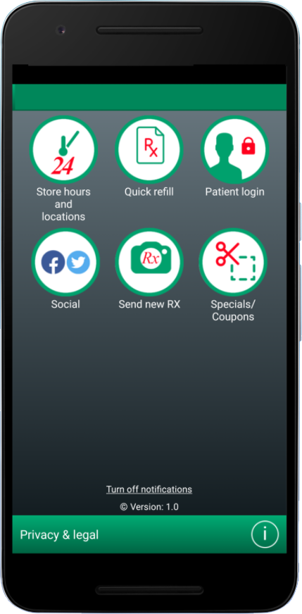 Village Pharmacy Lakefield - Mobile App